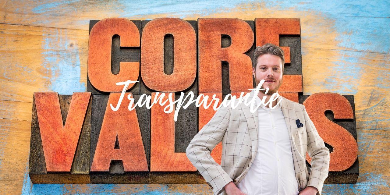 Provolve's Kernwaarden: Transparantie